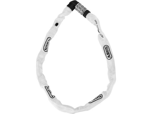 ABUS Web 1200/60 Łańcuch rowerowy z zamkiem, biały